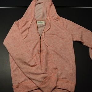 Women's S Pink American Eagle Zip Up Sweatshirt